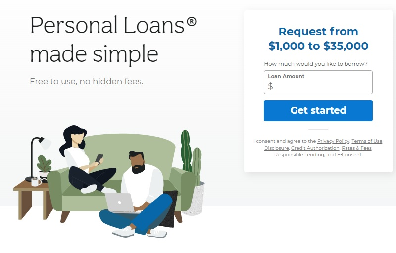 personal loans site