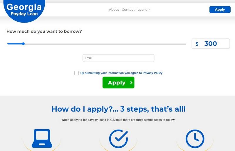 Payday Loans Georgia